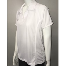 Invictus Ladies Panel White Polo