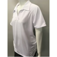 Invictus Ladies Plain White Polo