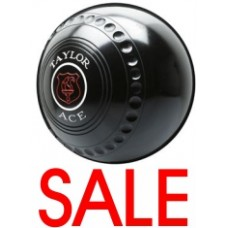 SALE Taylor Ace Xtreme Grip Black Bowls