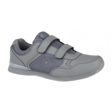 SALE Ladies Skipper Grey  Velcro Trainer