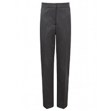 "Casterton College Girls Slim Fit Grey Trousers (22""-28"")"