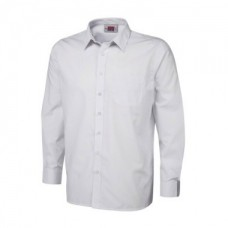 "Boys White Long Sleeve Shirt Twin Pack (13""-14"")"