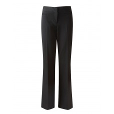 "Girls David Luke Slim Fit Black Trousers (22""-28"" waist)"