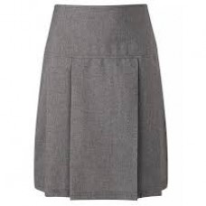 Girls Banbury Grey Pleated Skirt