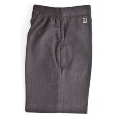 Zeco Boys Elasticated Pull Up Grey Shorts