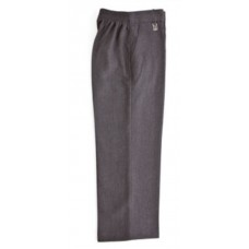 Zeco Boys Elasticated Pull Up Grey Trousers