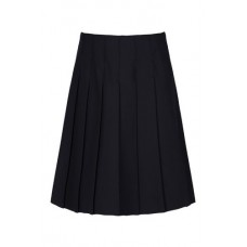 "Girls Navy Skirt (28""-38"")"