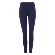 Plain Navy PE Girls Leggings (Sizes 10-16)