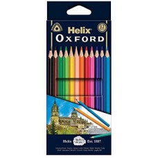 "Helix Oxford 7"" Coloured Pencils x12"